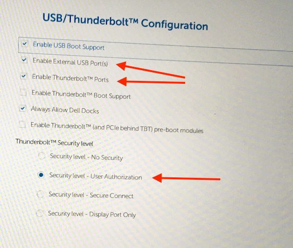 Thunderbolt 3 Devices in Windows 10 platform