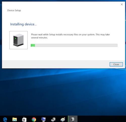 Thunderbolt 3 Devices in Windows 10 platform