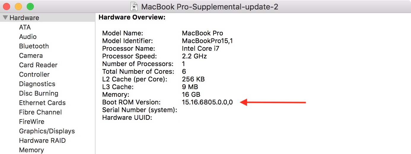 Important macOS update and Thunderbolt Firmware Information