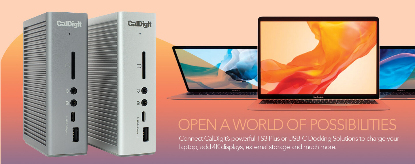 CalDigit TS3 Plus support new MacBook Air